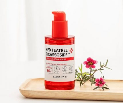 Serum trị mụn ẩn Hàn Quốc Some By Mi Red Tea Tree Cicassoside Final Solution Serum