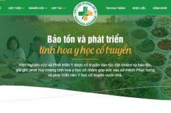 website vien y duoc dan toc