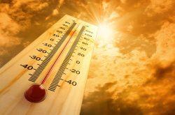 Nhiệt độ nắng nóng gây dị ứng thời tiết vào mùa hè