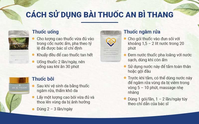 An Bì Thang đã được tối ưu cách sử dụng
