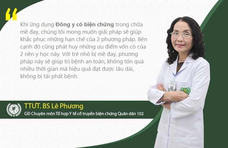Bác sĩ Lê Phương nói về phương pháp Đông Y có biện chứng tại Quân dân 102