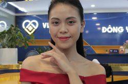 Làn da của chị Trang đã chuyển biến khá tốt sau khi điều trị mụn tại Viện Da liễu Hà Nội - Sài Gòn