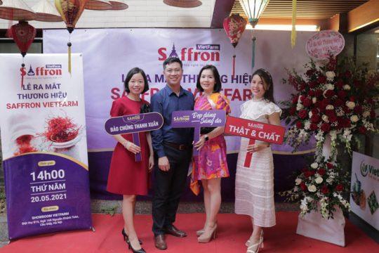 Chính thức ra mắt thương hiệu Saffron Vietfarm 100% nhụy hoa nghệ tây thật, nơi hội tụ những sợi saffron tốt nhất thế giới