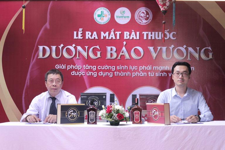 BS Lê Hữu Tuấn đánh giá cao hiệu quả bài thuốc Dương Bảo Vương