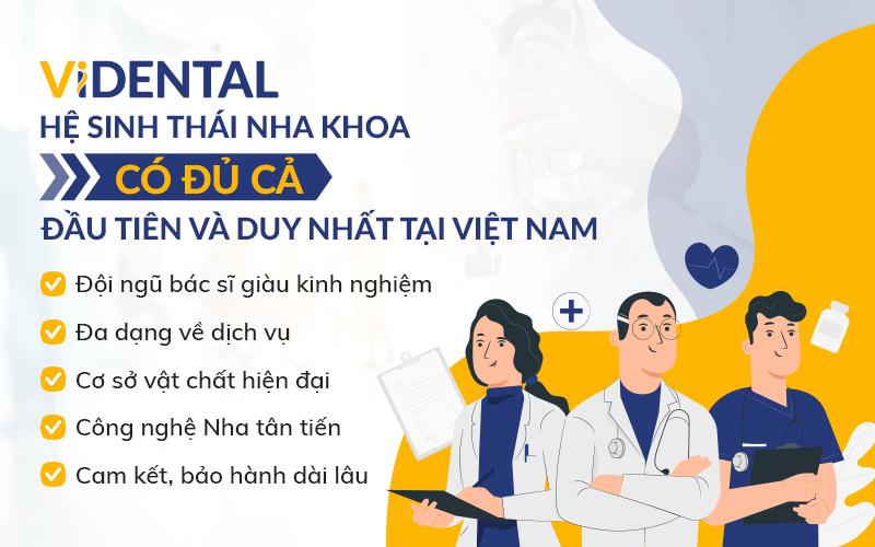 Lý do nên chọn Viện nghiên cứu và Ứng dụng công nghệ nha khoa Việt Nam Videnetal