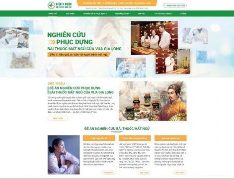 Webiste đề an nghiên cứu - phục dựng bài thuốc chữa mất ngủ của Vua Gia Long
