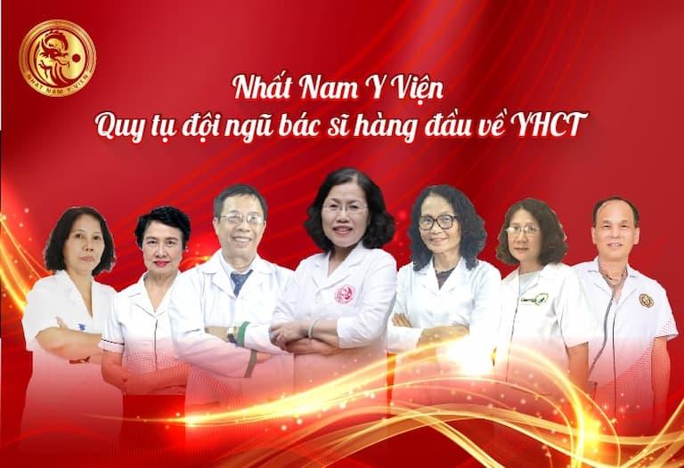 Đội ngũ bác sĩ chuyên gia của Nhất Nam Y Viện