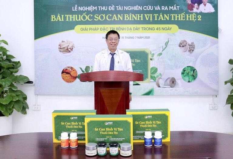 Bác sĩ Tuấn có những lời chia sẻ về bài thuốc thế hệ 2
