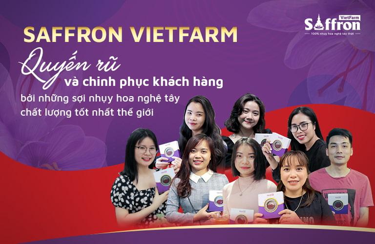 Saffron Vietfarm - Sự lựa chọn của hàng triệu người tiêu dùng Việt