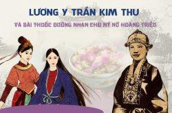 Lương y Trần Kim Thu và bài thuốc dưỡng nhan cho mỹ nữ Hoàng Triều