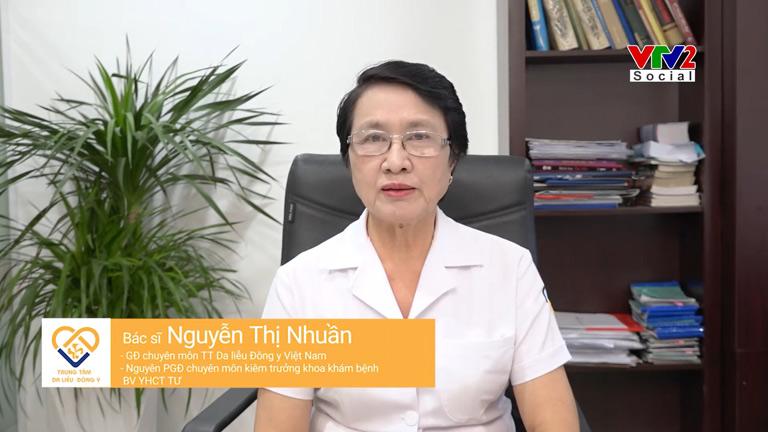 Bác sĩ Nguyễn Thị Nhuần tư vấn phác đồ hỗ trợ điều trị rụng tóc tại nhà