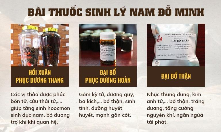 bai thuoc do minh duong chua sinh ly nam