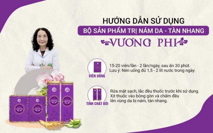 Vương Phi là bộ sản phẩm thảo dược tiện dụng, phù hợp với phụ nữ hiện đại