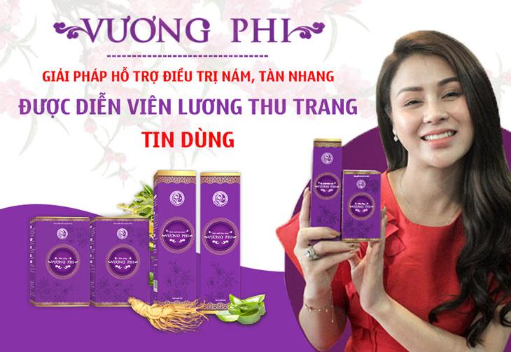 Vương Phi - Bộ sản phẩm được Diễn viên Lương Thu Trang tin dùng